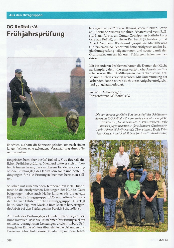 SV Zeitung Mai 2013
